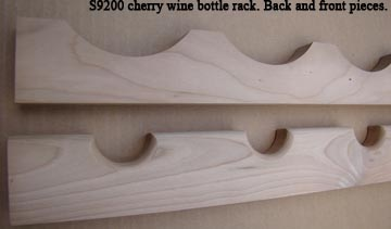 Omega-National cherry wine bottle rack