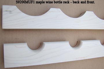 Omega-National maple wine bottle rack