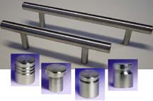 Arthur Harris stainless steel T-pulls and handles