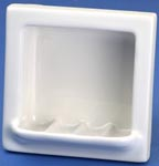 Lenape 200 recessed ceramic soap dish