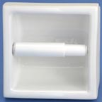 Lenape 225 recessed ceramic toilet paper holder