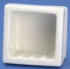 Lenape 271 tiny recessed soap dish