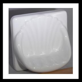 "Premium 8/"" Corner Shower Shelf Soap Dish /& Finish both sides available!"
