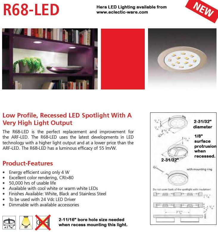 Hera Lighting R68 Led High Output Light