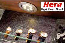 Hera Lighting under cabinet lighting and disply light fixtures for home and commercial use