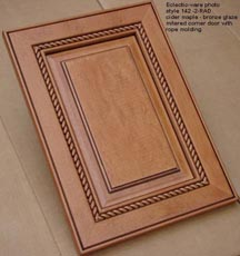 Click here to view your wood cabinet door options and thermal foil kitchen cabinet doors