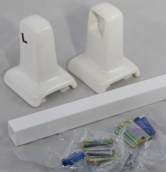 AC Products 600 Series ceramic towel bars and TP holders
