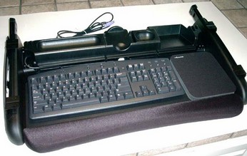 Accuride Deluxe Keyboard Slide Out