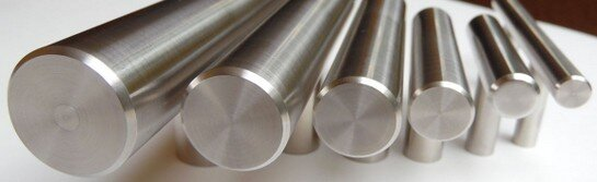 Arthur Harris six stainless steel bar diameter selections