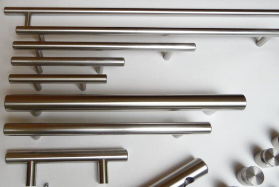 Arthur Harris stainless steel European Railing style custom handles