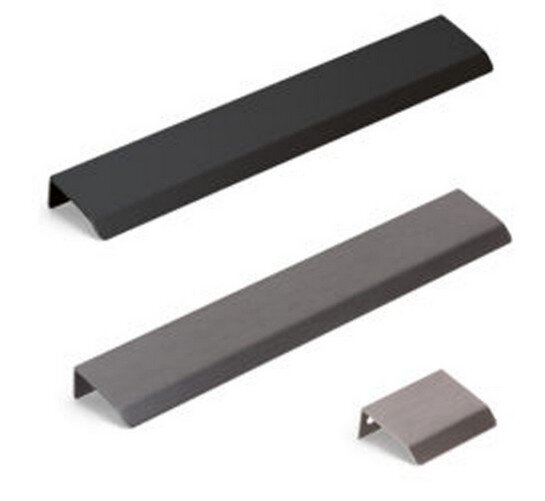 Century Hardware Modern Edge collection of various size edge pulls