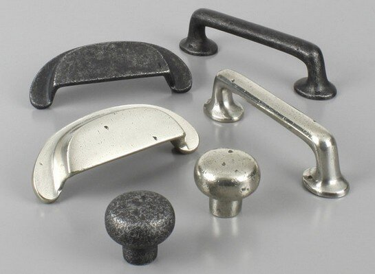 Century Hardware Whistler collection solid bronze cabinet pulls