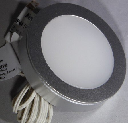 Hera FR68-LED light, 4 watt 24 volt high power kitchen LED light