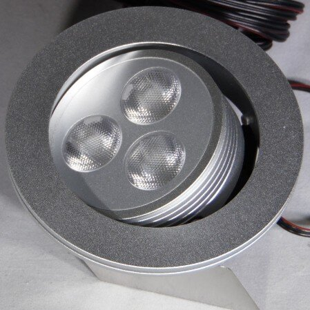 Hera HO-LED2 swivel LED light at 3.6 watt high output