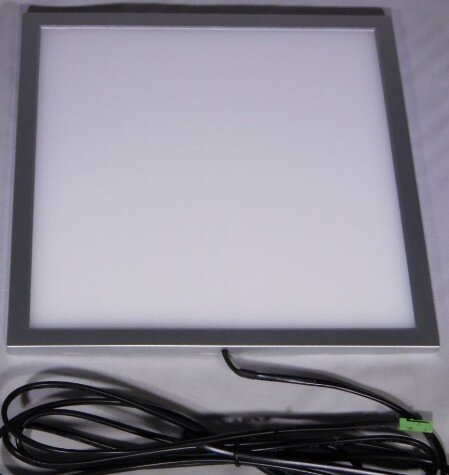 Slim height surface mount LED lights that look recessed mounted