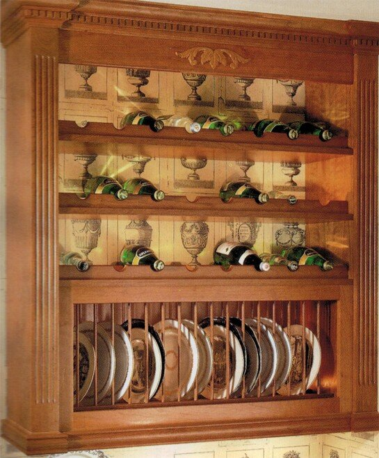 Omega-National plate display racks