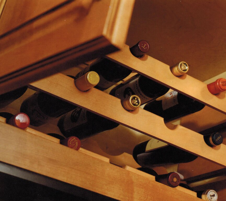 Omega-National wood wine bottle racks