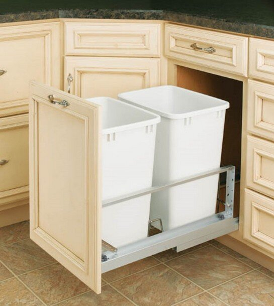 Rev-A-Shelf slide out waste containers
