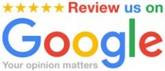 Google Reviews - we love to get 5-star reviews