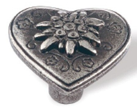 Siro Designs Edelweiss antique cabinet knobs and drawer pulls