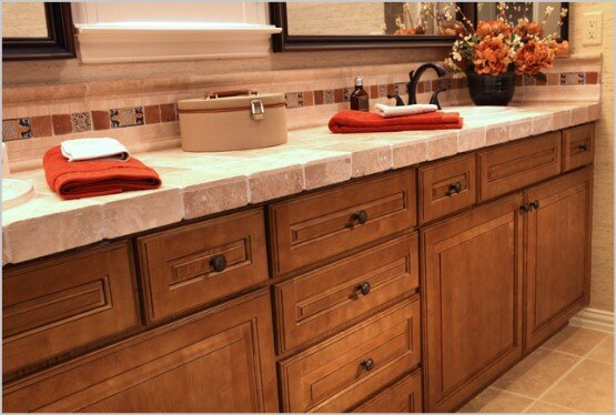 Eclectic-ware offers custom wood cabinet doors for bathroom and kitchens