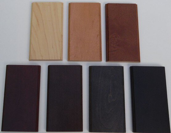 Woodmont Door maple stain colors