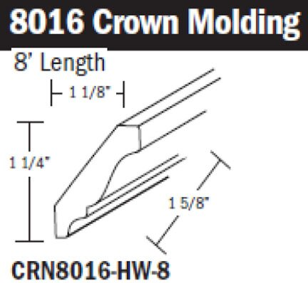 Decorative crown molding and other molding choices