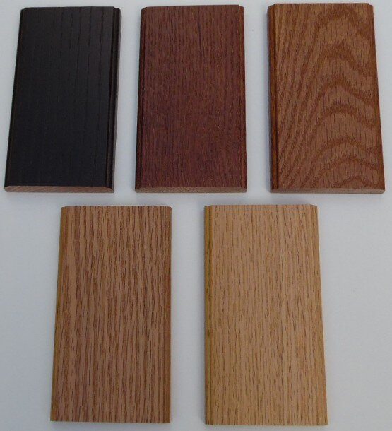 Woodmont Doors oak stain finishes