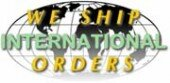International orders accepted