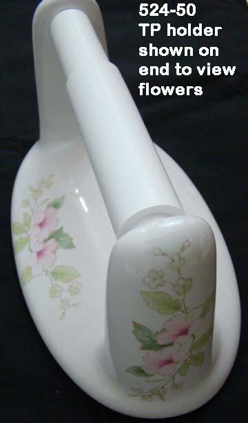 Lenape Classic Amp Blossoms Porcelain Bath Hardware