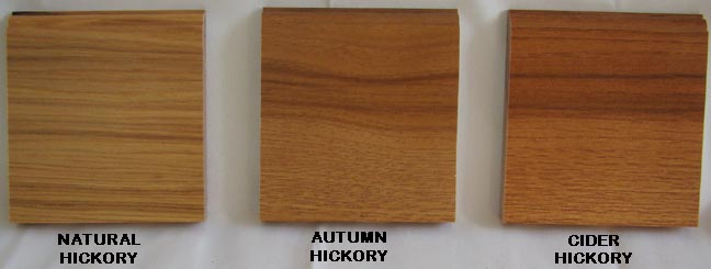 Hickory wood kitchen cabinet doors stain colors