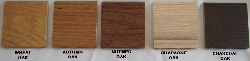 The Oak stain finishes from Woodmont Doors